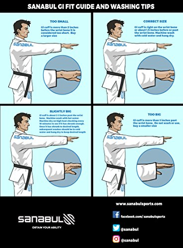 Sanabul Essentials V.2 Ultra Light Pre Shrunk BJJ Jiu Jitsu Gi (A3, Blue) See Special Sizing Guide