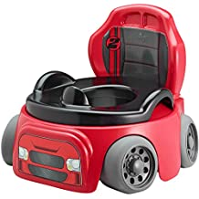 The First Years 2-in-1 Training Wheels Racer Potty Chair with Removable Trainer Seat