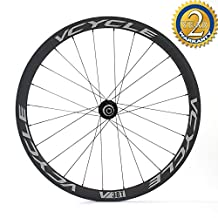 [VCYCLE] Disc brake carbon wheels 700c tubular 38mm road bicycle wheelset