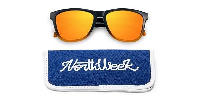 NORTHWEEK Gradiant Gafas de Sol, Naranja, 52 Unisex: Amazon ...