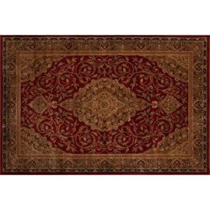 Amazoncom Better Homes and Gardens Gina Area Rug Garnet Red