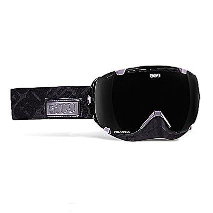 4a386bd78c78 Amazon.com  509 Aviator Goggle - Black and Chrome  Automotive