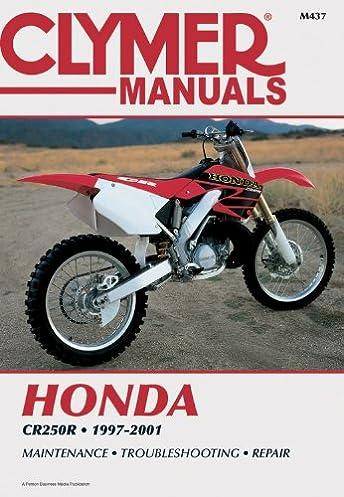honda cr250r 1997 2001 clymer motorcycle repair penton staff rh amazon com