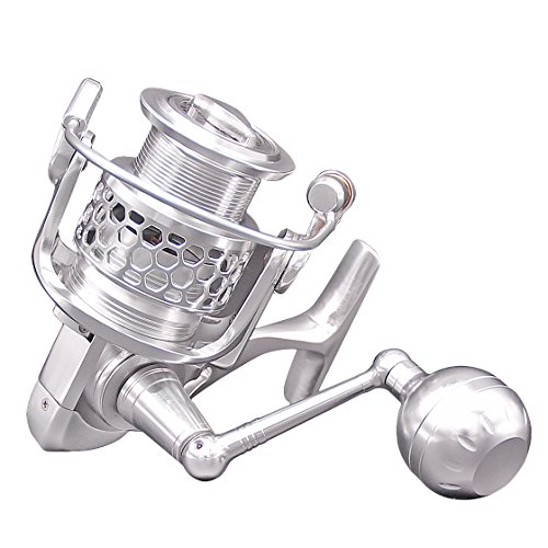 Fishing Reel Spinning with New Aluminum Alloy CNC Processing 2000 Spinning Reel 14+1BB Stainless Steel Bearing Anti-seawater Wheel Full Metal