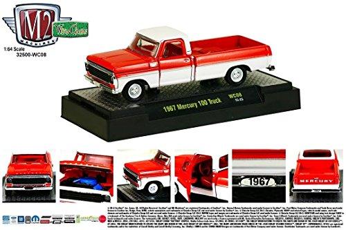 1967 MERCURY 100 TRUCK * Wild Cards Series Release 8 * M2 Machines 2015 Castline Premium Edition 1:64 Scale Die-Cast Vehicle ( WC08 15-25 )