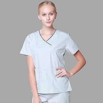 OPPP Ropa médica Uniformes médicos, Ropa de Dama, Conjunto de Matorrales, Enfermera,