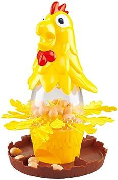 Toyvian Juego de Equilibrio de Mesa Juego de Huevos de Gallina Sacar Plumas de Gallo Juguete Gallo Dibujar Muchos Juguetes para Adultos Niños: Amazon.es: Juguetes y juegos