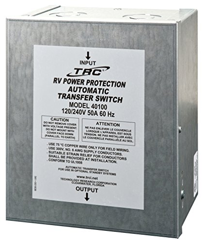 Technology Research (40100) 50 Amp Surge Guard Automatic Transfer (Automatic Transfer Switch)