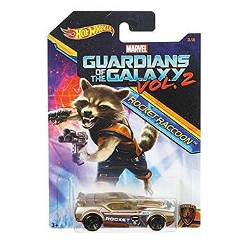 Hot Wheels 2017 Guardians of the Galaxy 1:64 Vol. 2 (Fast Fish (Rocket raccoon))