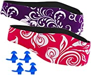 Swimming Headband for Babies, Toddlers, Kids, Adults - Designed to Help Prevent swimmer's Ears - Elastic S