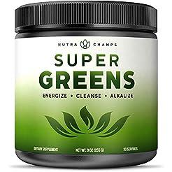 Super Greens Powder Premium Superfood - ...