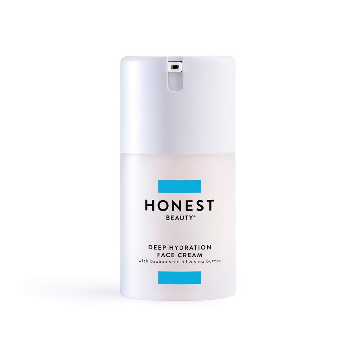 Honest Beauty Deep Hydration Face Cream with Baobab Seed Oil & Shea Butter | Paraben Free, Dermatologist Tested, Cruelty Free |1.69 fl. oz. (Packaging May Vary)