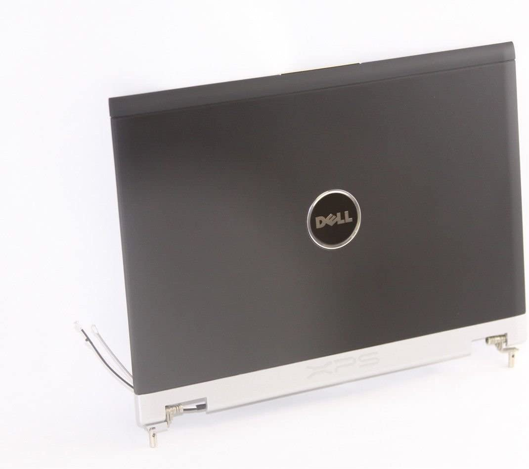 Dell 12.1 INCH XPS M1210 LCD Back Cover Lid with Hinges- TH819