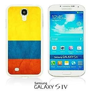 OnlineBestDigitalTM - Flag Pattern Hard Back Case for Samsung Galaxy S4 IV I9500 / I9505 - Colombia