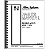Caterpillar Hyster Winch Crawler Parts Manual
