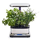 AeroGarden Harvest Elite WiFi with Gourmet Herbs Seed Pod Kit, Stainless Steel
