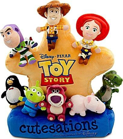 Amazon Com Cutesations Toy Story Series Plush Set Of 8 With Plush