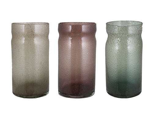 Essential D/écor /& Beyond EN111226 Hand-Blown Glass Vase