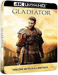 Gladiator - Edición Metálica Limitada (4K UHD + BD + BD Bonus) [Blu-ray]