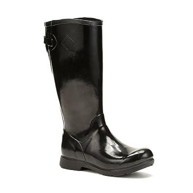 Muck Boots Bergen Tall Black - Chaussures Bottes de pluie Femme