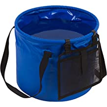 4.2 Gallon Portable Collapsible Camping Water Container Bucket by Trademark Innovations