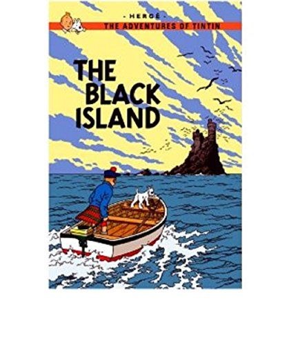 tintin Comics: The Black Island