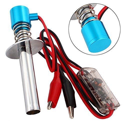 WEONE Blue Upgraded 6V-24V Electronic Glow Plug Starter Igniter for Nitro RC Car JS-10206868