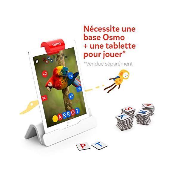Osmo Genius 901-00045 - Cofanetto completo (versione francese) - 5 mondi di giochi da 6 a 10 anni - Risoluzione di problemi e creatività, scienze, ingegneria, matematica (base iPad inclusa), 901-00045 2 spesavip