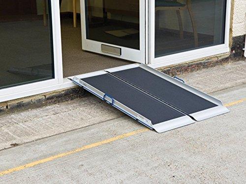 Silla de ruedas, patinete Aero-Light acceso rampa - 900 mm ...