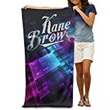 ^GinaR^ 300g Kane Brown Quick Dry Fiber Reactive Beach Towel