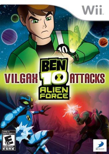 Ben 10 Alien Force: Vilgax Attacks - Nintendo Wii (Cartoon Network Games Ben Ten Alien Force)