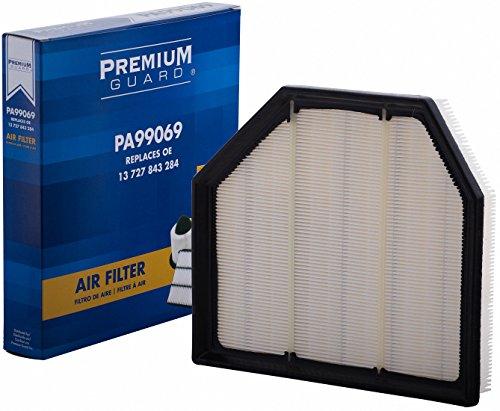 PG Air Filter PA99069 |Fits 2014-19 BMW M6 Gran Coupe, 2015-18 M3, 2015-18 M4, 2012-16 M5, 2012-18 M6 ()