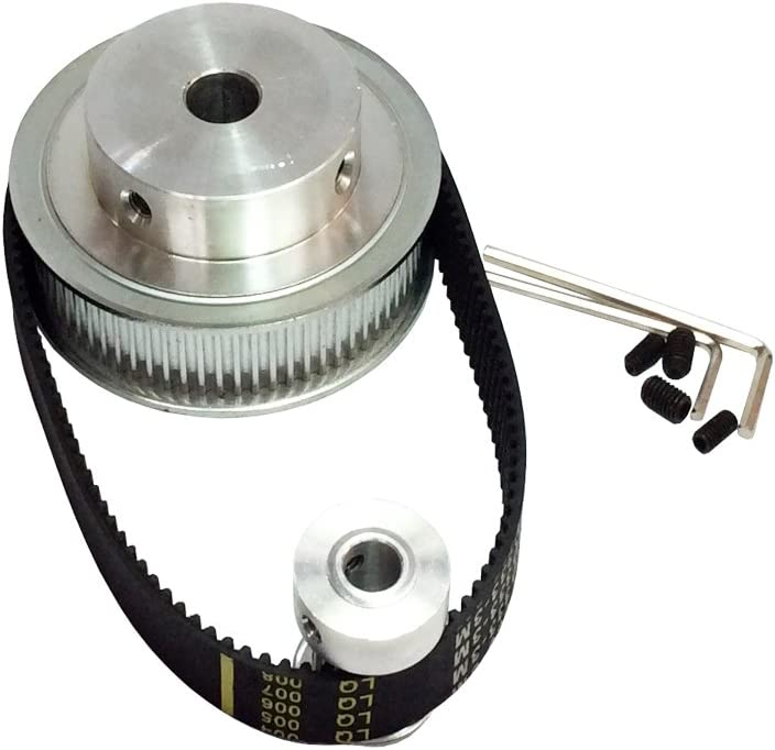 3M 12T-120T Timing Belt Pulley Synchronous Wheel for 15mm Width Powerdrive Belts