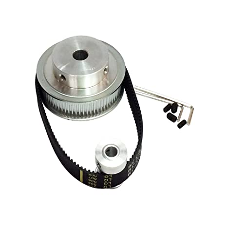 Woodworking Machinery & Parts Back To Search Resultstools 20 Teeth Htd 3m Timing Pulley Bore Diameter 8mm Motor Gears For Htd3m Open Belt Of Laser Cutter Engraver