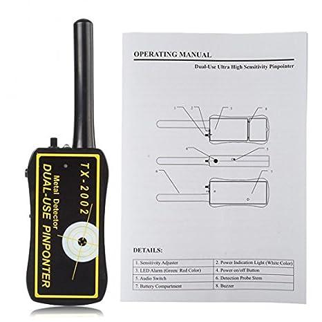 Amazon.com : SainSonic TX-2002 Dual-use Metal Detector : Garden & Outdoor