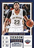 new orleans pelicans tickets - 2017-18 Panini Contenders Drafts Picks Season Ticket Variation #2 Anthony Davis New Orleans Pelicans - GOTBASEBALLCARDS