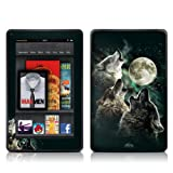 DecalGirl AKF-TWOLVES Kindle Fire Skin, Three Wolf Moon