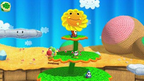 Yoshi Woolly World Bundle Green Yarn Yoshi amiibo - Wii U (Japanese version) by nintendo (Image #5)
