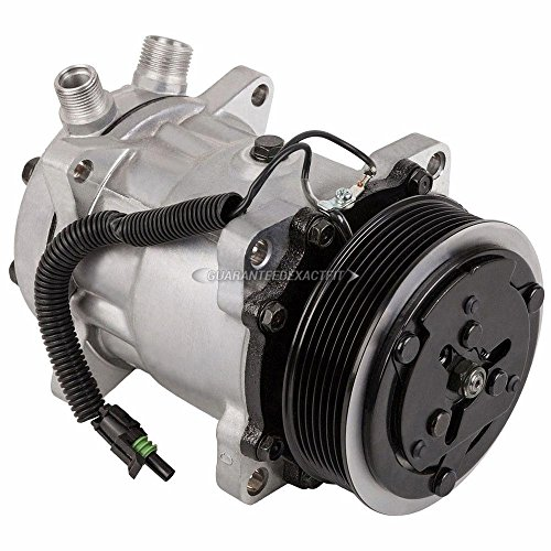 AC Compressor A/C Clutch For International All Models and Peterbilt 82-00 - BuyAutoParts 60-02484NA New
