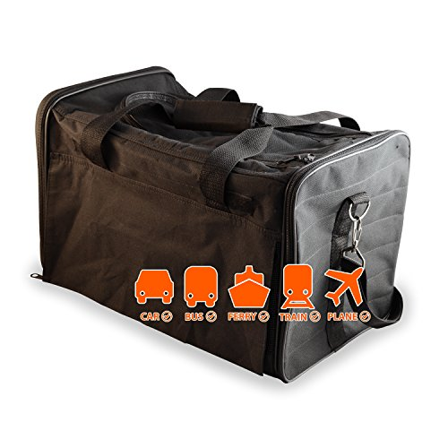 PetsNall-Soft-Sided-Pet-Carrier-Bag-Black-Airline-Approved