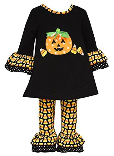 Bonnie Baby Halloween Outfit - Bonnie Baby Girl Halloween Candy Corn