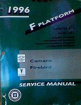 1996 f platform gmp 96 f 1 gmp 96 f 2 camaro firebird rh amazon com 2004 Camaro 1998 Camaro