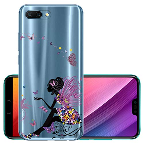 (Clear Silicone case for Huawei Honor 9 lite Soft TPU Case for Huawei Honor 10 Smart Protective Phone Cover for Honor 7A,13,for Honor)