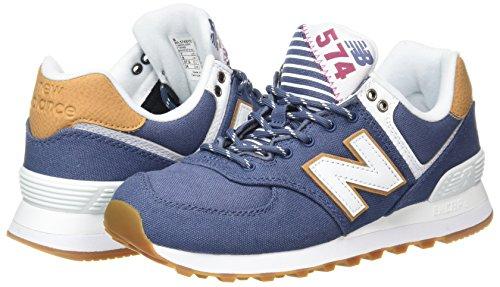 Para Azul blue Pack Wl574v2 Mujer Yatch Zapatillas Balance New 8X0qay