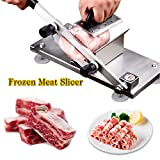 Best Meat Slicer Under 100s - Stainless Steel Manual Meat Slicer for Home Kitchen Review