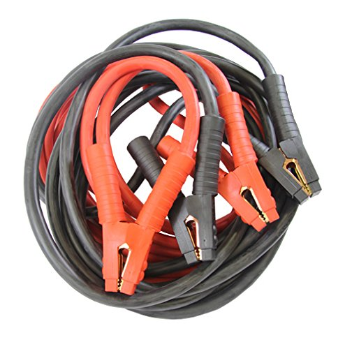 25 2//0-Gauge Booster Cable with 800 Amp Rating Clamp FJC 45265