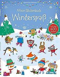 Mein Stickerbuch: Winterspaß: Usborne zum Mitmachen