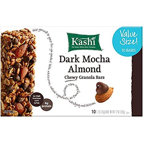 Kashi Chewy Granola Bar, Dark Mocha Almond, 1.2 oz Bars, ()