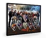 big 4 metallica - The Big 4 Special Edition Framed Guitar Plectrum Display