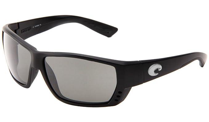 Costa Tuna Alley gafas de sol - TA11OSCGLP, Black Silver Mirror